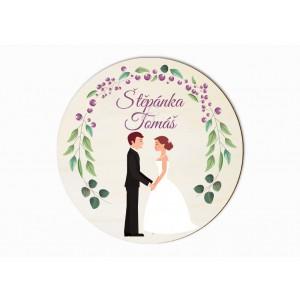 Svatební magnet arónie