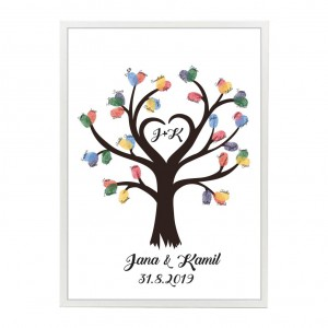 Svatební strom srdce